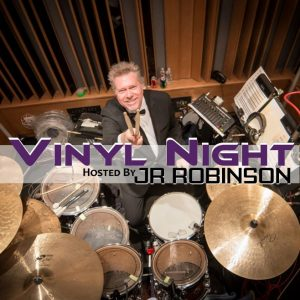 Vinyl Night Banner